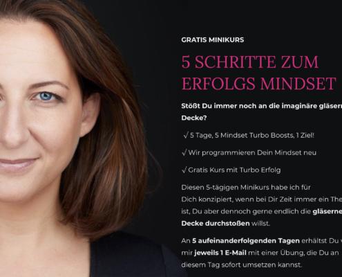 In 5 Schritten zum Erfolgs Mindset